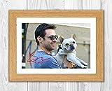 Engravia Digital Poster Hugh Jackman und Sein Hund Dali