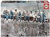Educa- Almuerzo en Nueva York Puzzle, 1500 Piezas, Multicolor (16009)