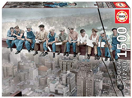 Educa - Almuerzo en Nueva York Puzzle, 1...