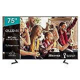Hisense 75A76GQ QLED 2021 Gaming Series, 75 Pulgadas 4K UHD Dolby Vision HDR Smart TV con Youtube, Netflix, Freeview Play y Alexa Built-in, HDMI 2.1, Bluetooth, certificación TÜV