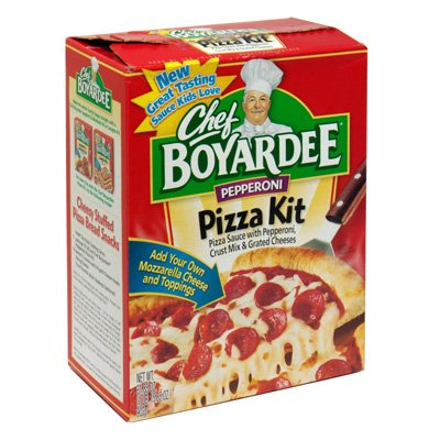 Chef Boyardee Pepperoni Pizza Kit, 31.85 oz
