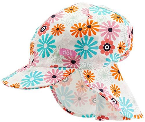 Döll Mädchen Baseballmütze mit Nackenschutz Kappe, Rosa (Fuchsia Pink|Pink 2023), 53
