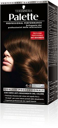 Schwarzkopf, Palette Classic, Colorazione Permanente con Tecnologia SalonPlex, 4-8 Castano Cioccolato