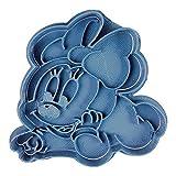 Cuticuter Baby Minnie 2 Disney Tagliapasta per Biscotti, Blu, 8 x 7 x 1,5 cm