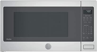 GE Profile 2.2 Cubic Foot Countertop Microwave Gray PES7227SLSS (Certified Refurbished)