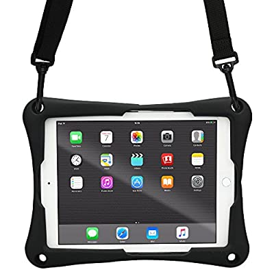 Cooper Trooper 2K Rugged Case for 10-10.4'' Tablet | Tough Bumper Protective Drop Shock Proof Kids Holder Carrying Cover Bag, Stand, Hand Strap