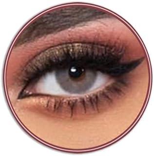 Unisex Lensme Contact Lenses, Lensme Malakit, Cosmetic Contact Lenses, Six Months Disposable, Malakit (Special Grey Color)