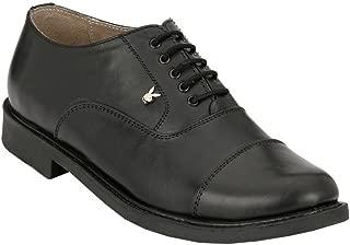 XY HUGO 2503 5-10 Playboy Formal Black Leather Man & Boys Shoe
