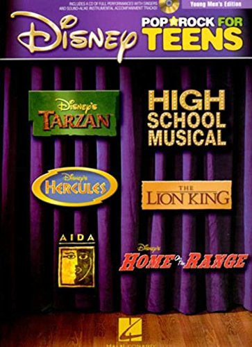 Disney Pop And Rock For Teens - Young Men's Edition (Book/CD)