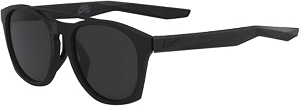 Nike EV1057-001 Current Frame Dark Grey Lens Sunglasses, Matte Black 145 mm