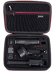 Smatree Twarda torba przenośna torba do przechowywania dla DJI Osmo Pocket 2 / DJI Osmo kieszeń, drążek przedłużający, wodoodporny futerał Osmo Pocket i inne akcesoria