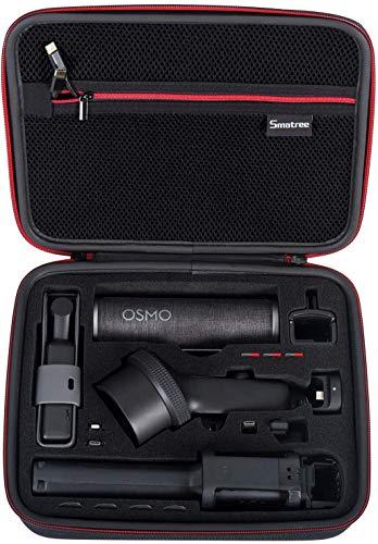 Smatree Estuche de Transporte para dji Osmo Pocket 2 / Osmo Pocket Accessories, Bolsa Protectora para Osmo Extension Rod, dji Osmo Pocket Case Impermeable, Kit de expansión