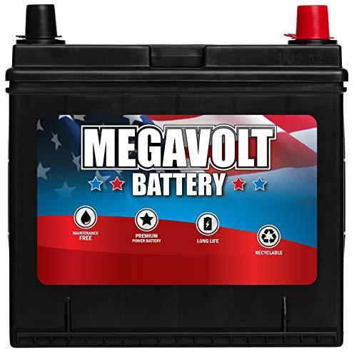 Megavolt Lead Acid Flooded Car Battery BCI 26R, 12V 50 AMP/HOUR CCA 500 CA 620 (26R-60-500)