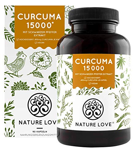 NATURE LOVE® Curcuma Extrakt -...