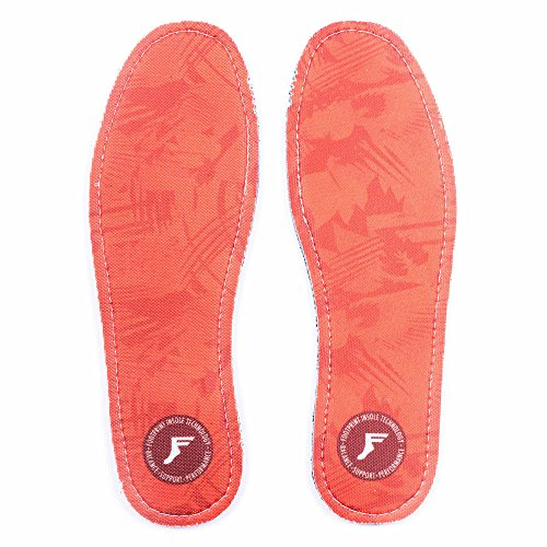 Footprint Einlegesohle Kingfoam Flat Insoles - 5mm Profil Red Camo US 6-6,5