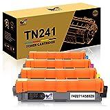 ONLYU TN241 TN245 Compatible pour Brother HL-3140CW HL-3150CDW HL-3170CDW HL-3142CW...