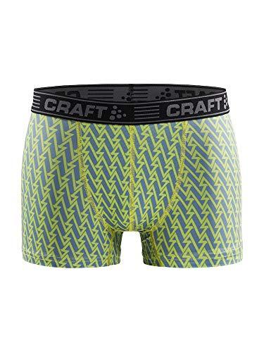 Craft Heren Greatness 3-in-boxershort, donkerblauw, zwart ondergoed
