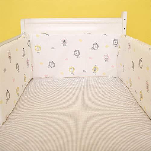 Luerme R/éducteur de lit doux avec coussin pour b/éb/é
