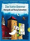 Das kleine Gespenst (Ausmalen, weitermalen, selber malen): Malspaß auf Burg Eulenstein | Das kreative Malbuch zum Kinderbuch-Klassiker von Otfried Preußler