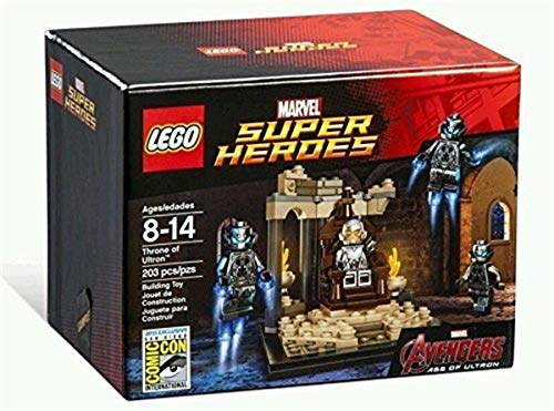 LEGO SDCC 2015 Exclusive Throne of Ultron Marvel Avengers #6590 by