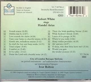 Robert White Sings Handel Arias Virgin Classics