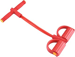 Workout Stretch Pull Up Exerciser Tummy Body Trimmer (Red)