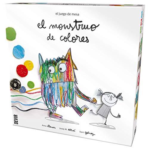 Juego De Mesa El Monstruo De Colores