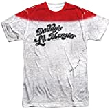 Daddy's Lil Monster - Suicide Squad Front Print Sports Fabric T-Shirt, XXX-Large White