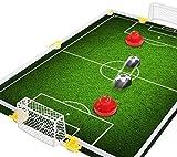 VGEBY Fußball Tor Set, Kinder Air Power Fußball Ziel Spielzeug Set Disk Hover Fußball Spiel Training Kit -