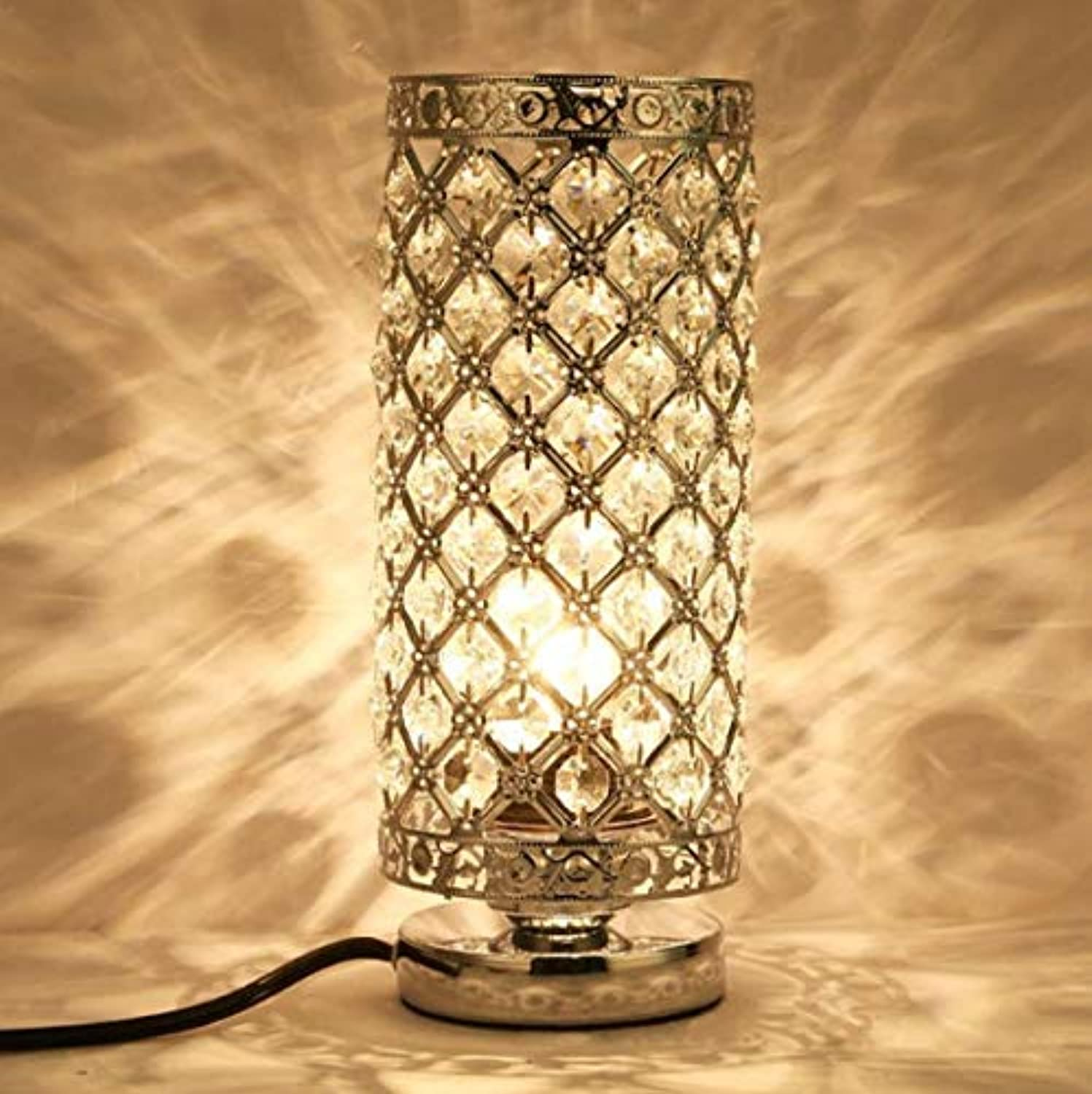 Table Lamp LED Bedroom Bedside Lamp Eyes Living Room Hotel Iron Lighting Creative Foreign Trade Crystal