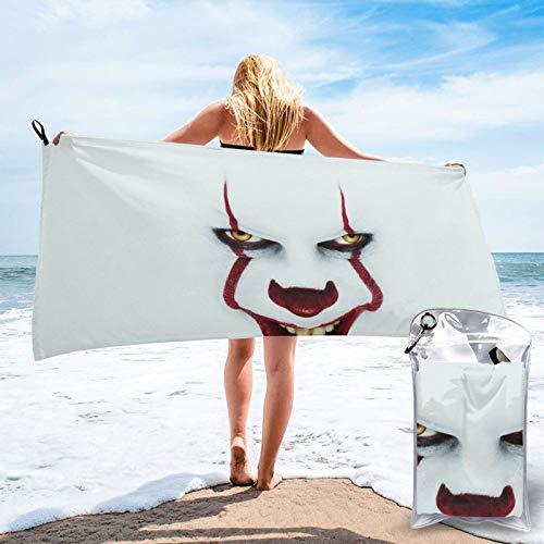 Toalla de piscina de microfibra Pen-Nywi-Se de 27.5 x 55 pulgadas, coloridas al aire libre, viajes, secado rápido, para adultos