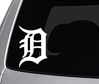 Detroit Tigers Decal CAR Truck Window Sticker Sports Baseball