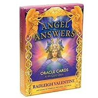 Angel Answers Tarot 44オラクルカードデッキフルイングリッシュファミリーフレンドパーティーボード