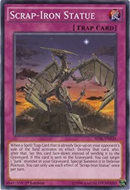 YU-GI-OH! - Scrap-Iron Statue (SDSE-EN034) - Structure Deck: Synchron Extreme - 1st Edition - Common