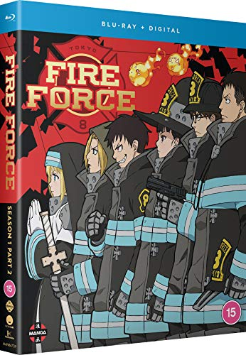 Fire Force Season 1 Part 2 (Episodes 13-24) [Blu-ray]