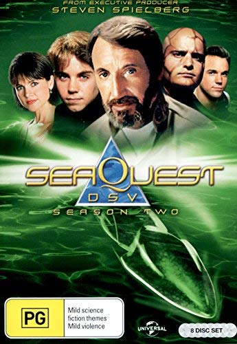 SeaQuest DSV: Los vigilantes del fondo del mar / SeaQuest DSV - Season 2 - 8-DVD Set ( Sea Quest 2032 - Season One (23 Episodes) ) [ Origen Australiano, Ningun Idioma Espanol ]
