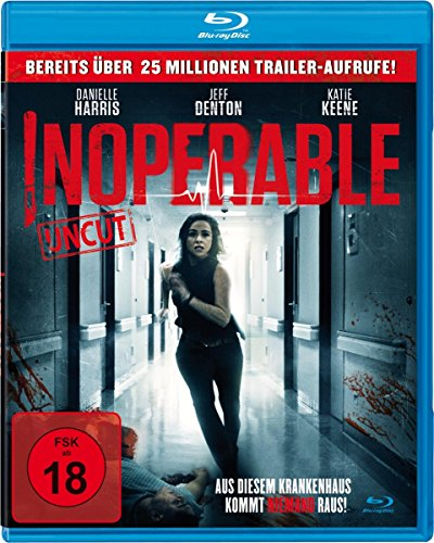 INOPERABLE - Aus diesem Krankenhaus kommt NIEMAND raus! [Alemania] [Blu-ray]