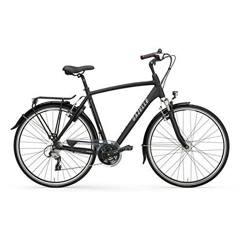Trekkingrad Gazelle Vento T24 28'' Herren schwarz V24 div. Rh , Rahmenhöhen:61;Farben:black