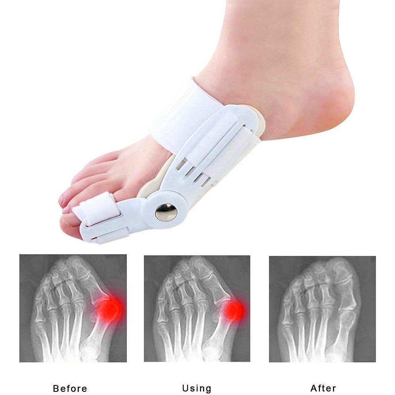 より多いハンディキャップレールつま先のセパレーターと矯正、外反母A援助スプリント、痛みを軽減する腱膜瘤補正、ウォーキングトゥアライナー2 PCSを毎日使用