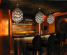 GOWE modern designer chandelier lighting E27 Spiral silvery lustre acrylic pendant chandelier for living room Lampshade Co...