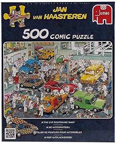 Diset - 17281 - Puzzle - Comic - L'atelier de Peinture Auto by Diset