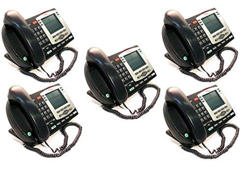 Lot of 5 Nortel Ip 2004 NTDU92 Display Speaker Business Desk Phone