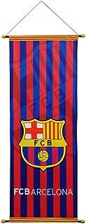 STER-TSP FC Barcelona Flag Soccer Club Decoration Vertical Hanging Flag Blue