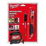 Milwaukee 4932459375 Juego de herramientas de mano de 3 piezas