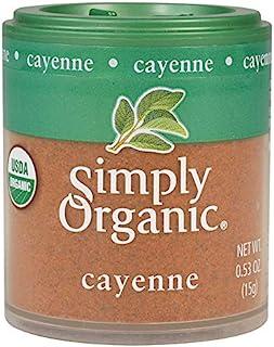 Simply Organic Ground Cayenne, Certified Organic | 0.53 oz | Capsicum annuum L.