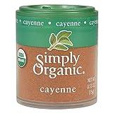 Simply Organic Ground Cayenne, Certified Organic   0.53 oz   Capsicum annuum L.