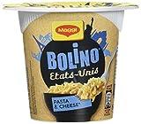 Maggi Bolino Cup U.S. Pasta & cheese Pâtes au fromage (1 Cup) 78g - Lot de 4