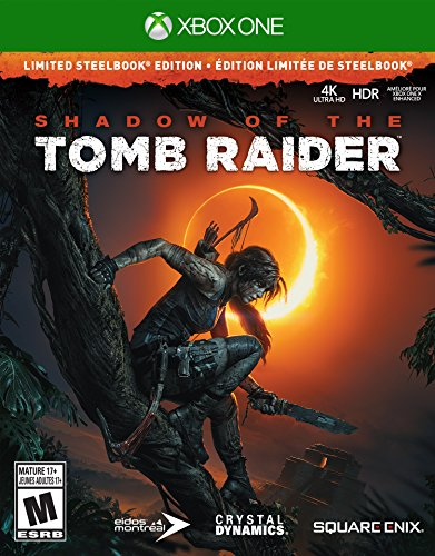 Shadow of the Tomb Raider Xbox One Steelbook Edition - 0