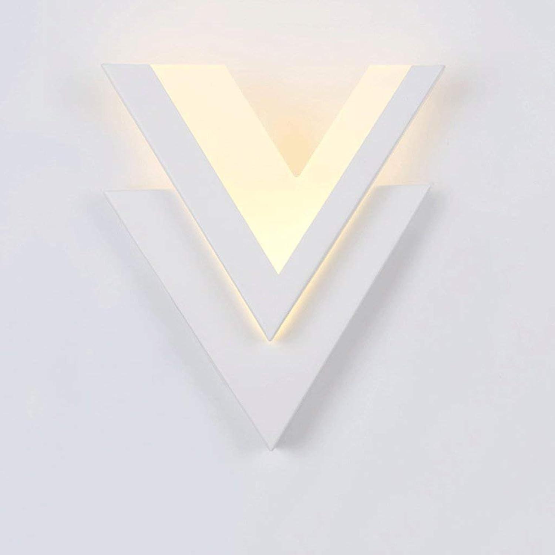 JU Einfache Metall LED Nachttischlampe Wandleuchte Mode Acryl Optischen Schlafzimmer Schlafzimmer Schlafzimmer Wandleuchte Kunst Gang Wandleuchte B07HL9Z3X4 | Shopping Online  9863f5