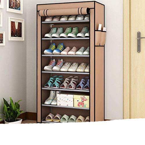 Organizador de estante de zapatos multifunción creativo zapatos de secado estante soporte percha niños zapatos colgantes de almacenamiento piso-cremallera 2